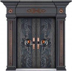 别墅铸铝大门