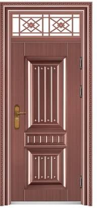 锌合金玻璃入户门