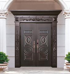 高端铸铝门