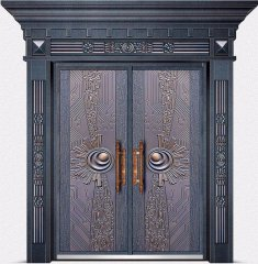 非标铸铝门