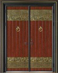 中式别墅大门