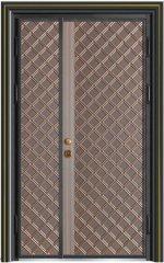 精雕铸铝门